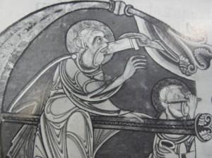 ekekiel eating the scroll